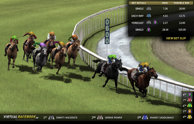 Casino News: Betsoft Virtual Racebook 3D